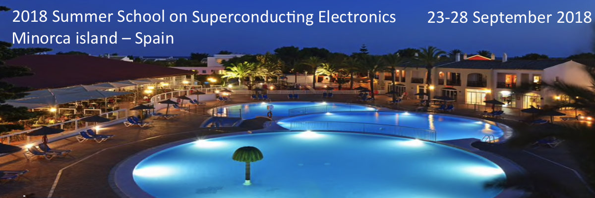 2018 Summer School On Superconducting Electronics